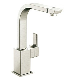 Moen 90-degree High Arc Classic Stainless Kitchen Faucet
