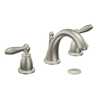 Moen Brantford Two-handle Brushed Nickel Bathroom Faucet