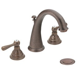 Moen T6125ORB Kingsley 2-handle High Arc Oil Rubbed Bronze Faucet