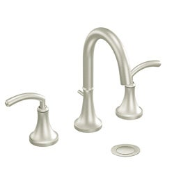Moen TS6520BN ICON 2-handle High Arc Brushed Nickel Bathroom Faucet