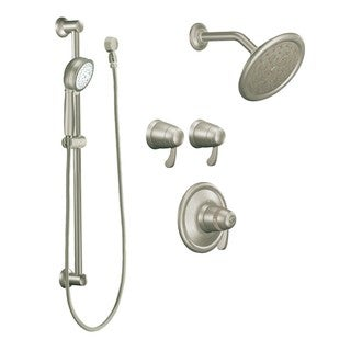 Moen TS270BN ExactTemp Brushed Nickel Vertical Spa Set