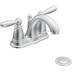 Moen 6610 Brantford Two-Handle Low Arc Bathroom Faucet Chrome
