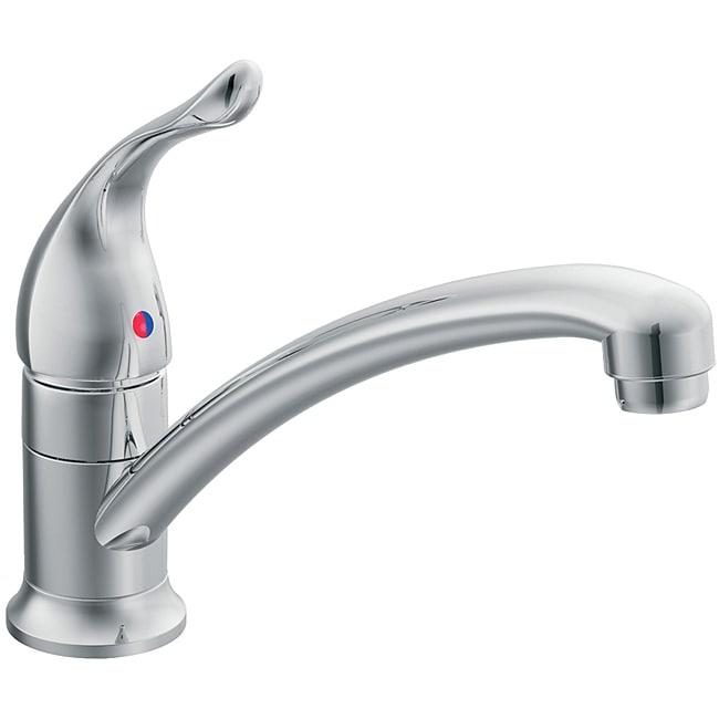 moen 7423 chateau one handle kitchen faucet chrome