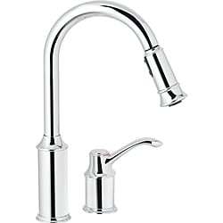 Moen 7590C Aberdeen One-Handle Pulldown Kitchen Faucet Chrome