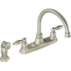 Moen 7905SL Castleby Two-Handle Kitchen Faucet with Hydrolock Installation Stainless