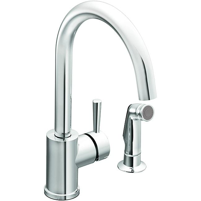 moen 7106 level one handle high arc kitchen faucet chrome