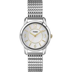 Timex Women's Elevated Dress Watch with Silver Dial