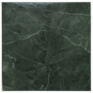 Somertile 12x12-in Mesa Esmeralda Ceramic Floor and Wall Tiles (Case of 16)