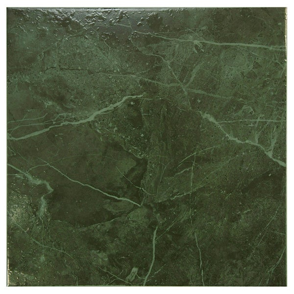 Somertile 12x12-in Mesa Esmeralda Ceramic Floor and Wall Tiles (Case of 16)