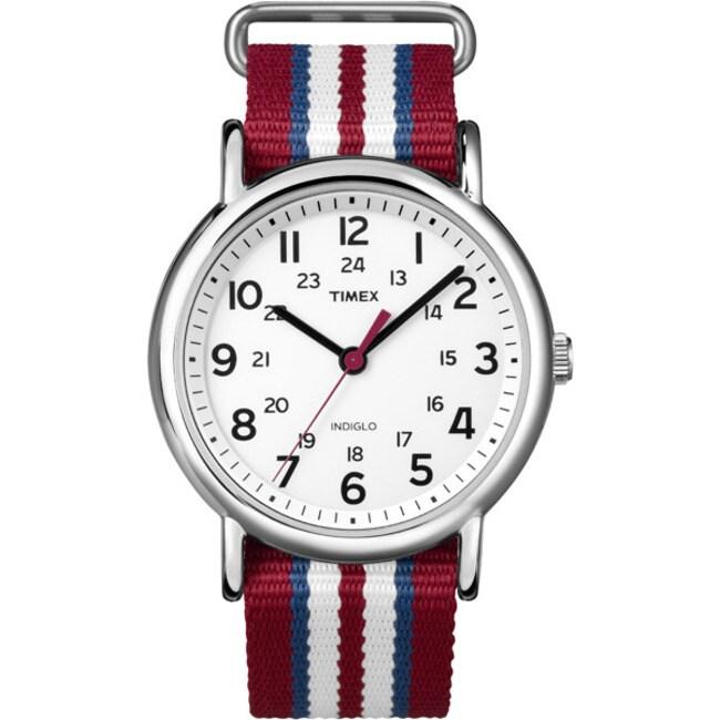 Timex Men's T2N746KW Weekender Water-resistant Watch