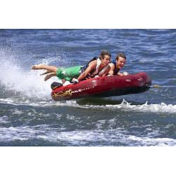 Rave Sports Prowler Three-person Deck-style Towable Tube with Cover