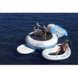 Rave Sports Portable O-Zone Water Bouncer with Boarding Platform