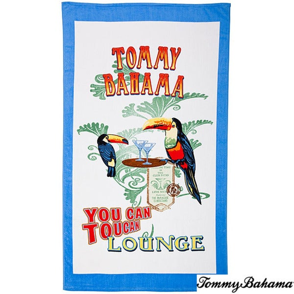 Tommy Bahama 'Toucan Lounge' Deluxe Cotton Beach Towel