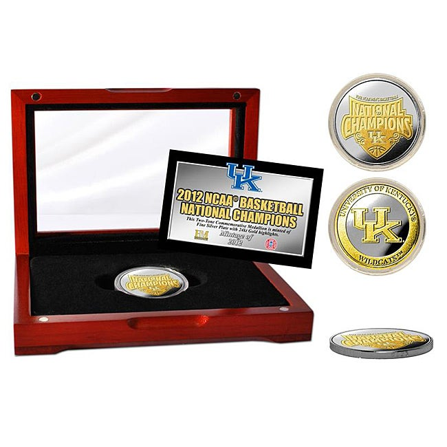University of Kentucky 2012 NCAA National Champions Two-tone Medallion