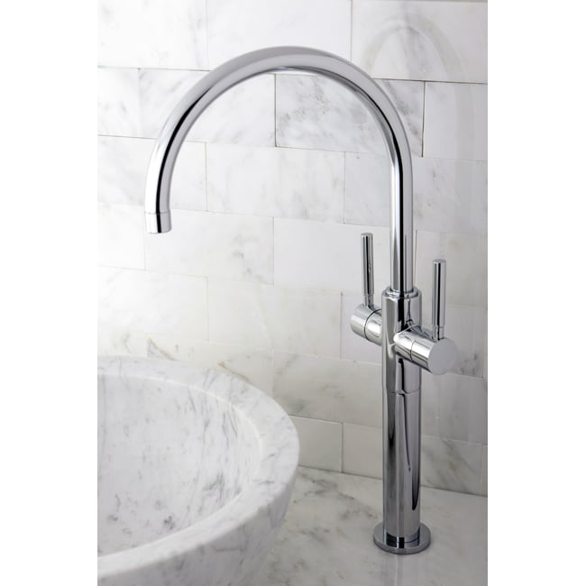 Vessel Sink 18.75-inch Chrome Bathroom Faucet