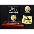 University of Kentucky 2012 NCAA National Champions Gold Coin Etched Acrylic Desktop