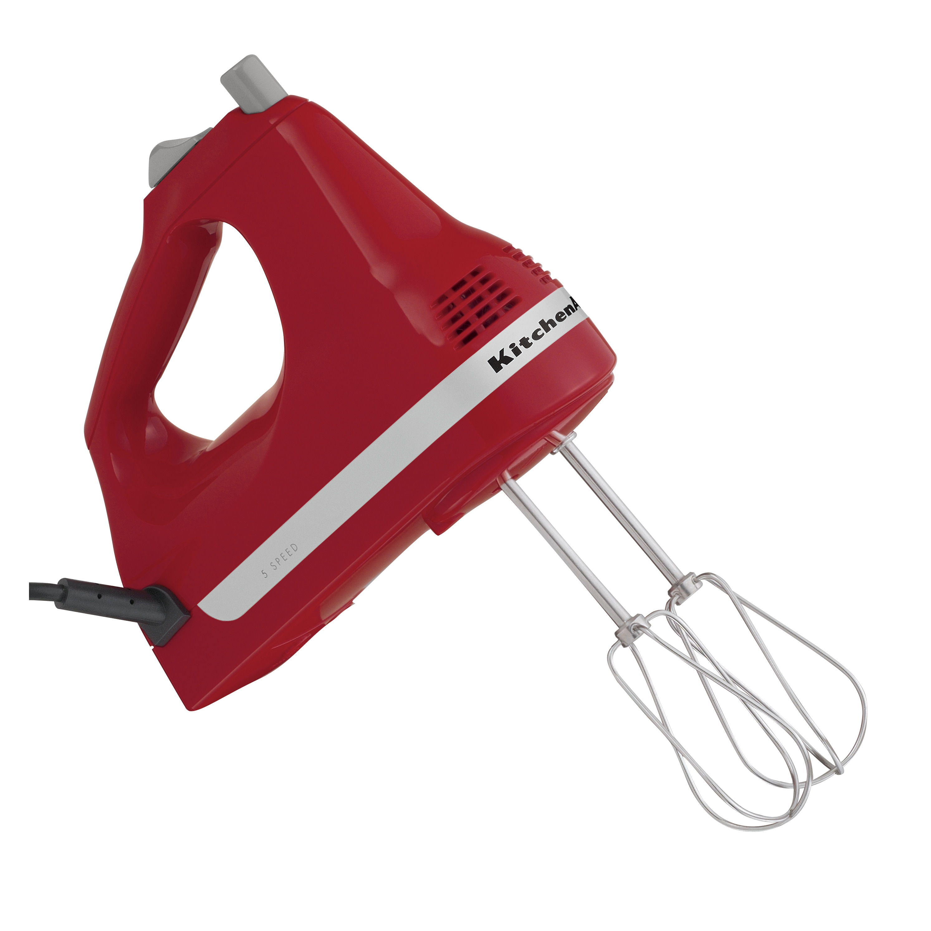 KitchenAid RRKHM5ER Empire Red 5-speed Ultra Power Hand Mixer (Refurbished) at Sears.com