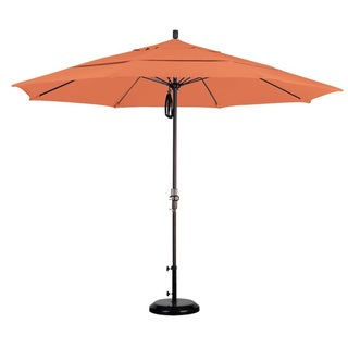 11-foot Fiberglass Pacifica Tuscan Crank/ Tilt Umbrella