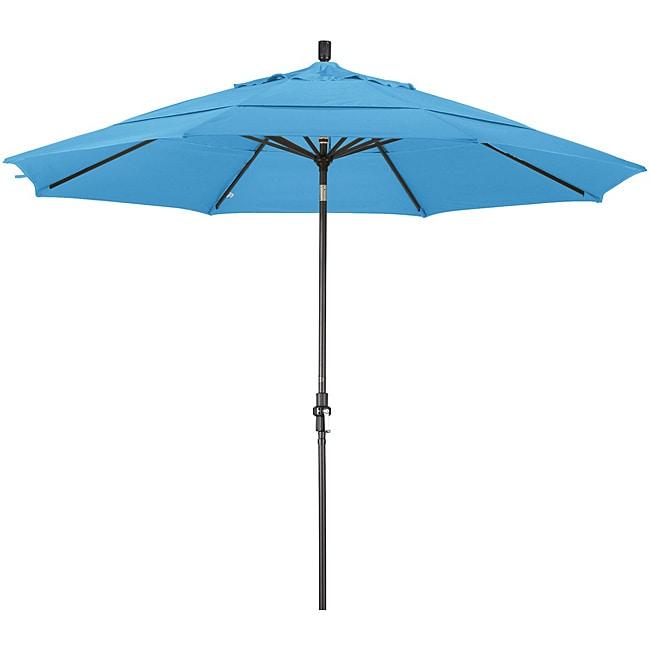 11-foot Fiberglass Pacifica Capri Crank/Tilt Umbrella
