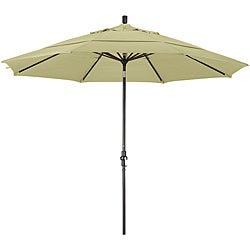 11-foot Fiberglass Pacifica Antique Beige Crank/Tilt Umbrella