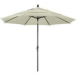 11-foot Fiberglass Pacifica Canvas Crank/Tilt Umbrella
