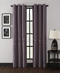 Mosaic Grommet 63-inch Curtain Panel