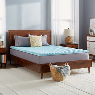 Slumber Solutions Gel Highloft 2-inch Memory Foam Mattress Topper