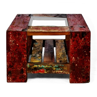 Ecologica Glass Side Table / End Table