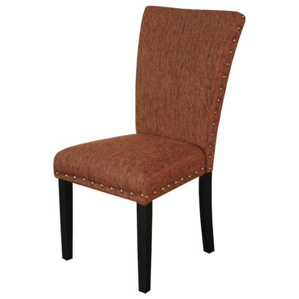 Monsoon Adorno Upholstered Allspice Linen Dining Chairs (Set of 2)