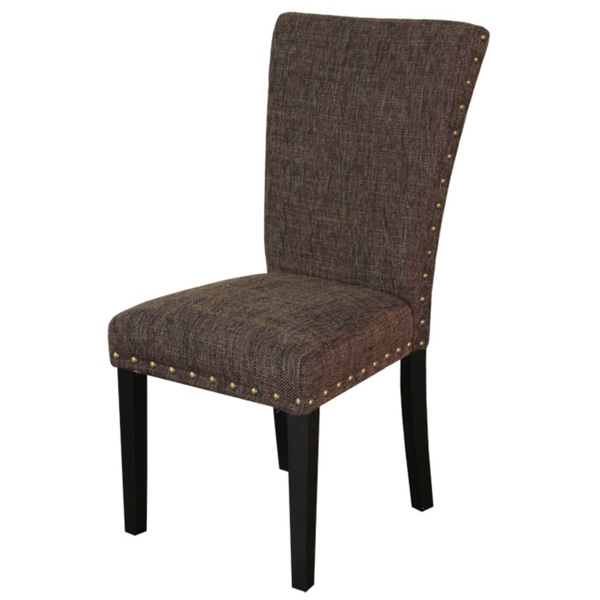 Monsoon Adorno Upholstered Berry Patch Linen Dining Chairs (Set of 2)
