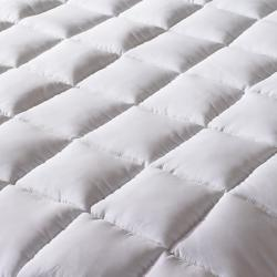 Slumber Solutions Gel 3.5-inch Memory Foam and Fiber Mattress Topper
