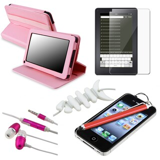 BasAcc Case/ Protector/ Wrap/ Stylus/ Headset for Amazon Kindle Fire