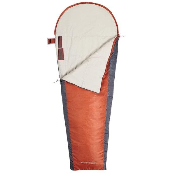 High Sierra Crescent Mummy 30 Degree Sleeping Bag
