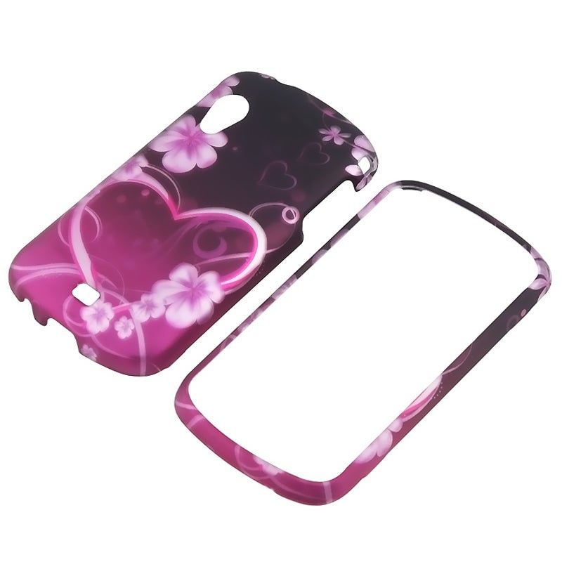 Exotic Love Snap-on Rubber Coated Case for Samsung Stratosphere i405