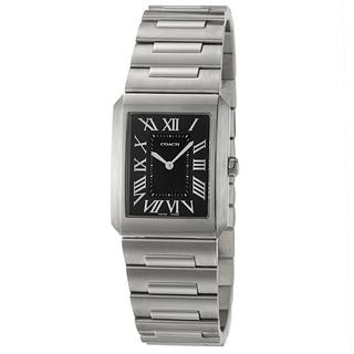 Coach Fulton Men's Black Dial Stainless Steel Watch