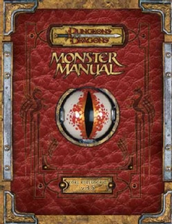 Monster Manual: Core Rulebook  (Hardcover)