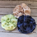 Caroline Alexander Ribbon Flower Brooch/Pin