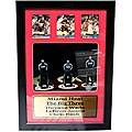 Miami Heat Dwyane Wade, LeBron James, and Chris Bosh 'Big Three' 3-card Frame