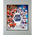 Winter Classic Philadelphia Flyers/NY Rangers 2012 Matted Photo