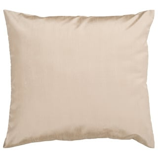 Decorative Chic Removable Cover 18-inch Square Solid Pillow