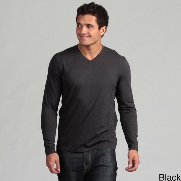 Calvin Klein Men's Striped Knit Shirt