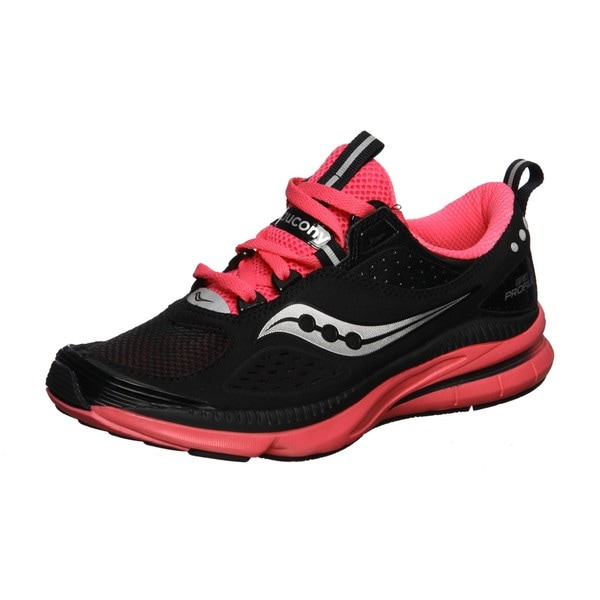 women's saucony black running shoe