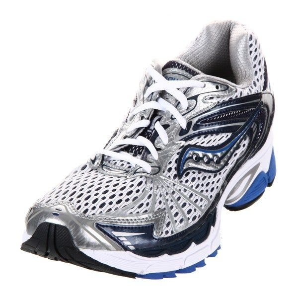 Saucony Men's 'Progrid Ride 4' White/Blue Running Shoes
