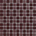 Lush 11.3x11.3-inch 'Black Cherry' 1-inch Glass Tiles (Pack of 10)
