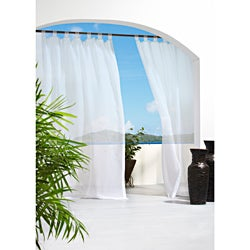 Escape Indoor/Outdoor Voile 96 inch Curtain Panel Set