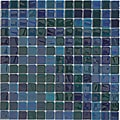 Viridian 'Pearl Ocean' 1-inch Recycled Glass Tiles (pack 15)