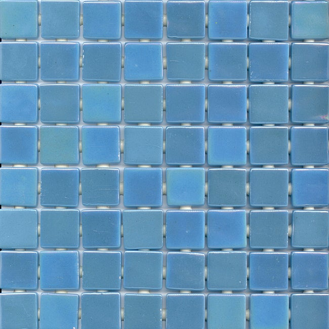 Viridian Pearl Mirage 1 Inch Recycled Glass Tiles Pack
