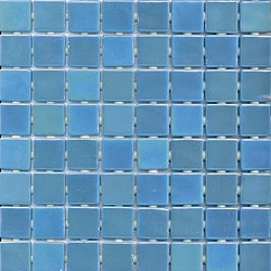 Viridian 'Pearl Mirage' 1-inch Recycled Glass Tiles (pack of 15)