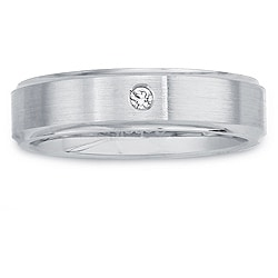 Cobalt Women's Diamond Accent 5-mm Band