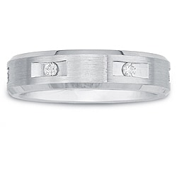 Cobalt Ladies1/10ct TDW Diamond 5-mm Band (H-I, I2)